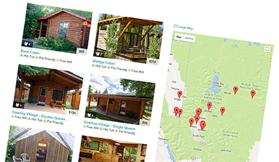 Yellowstone National Park Cabins, Cabin Rentals - AllTrips